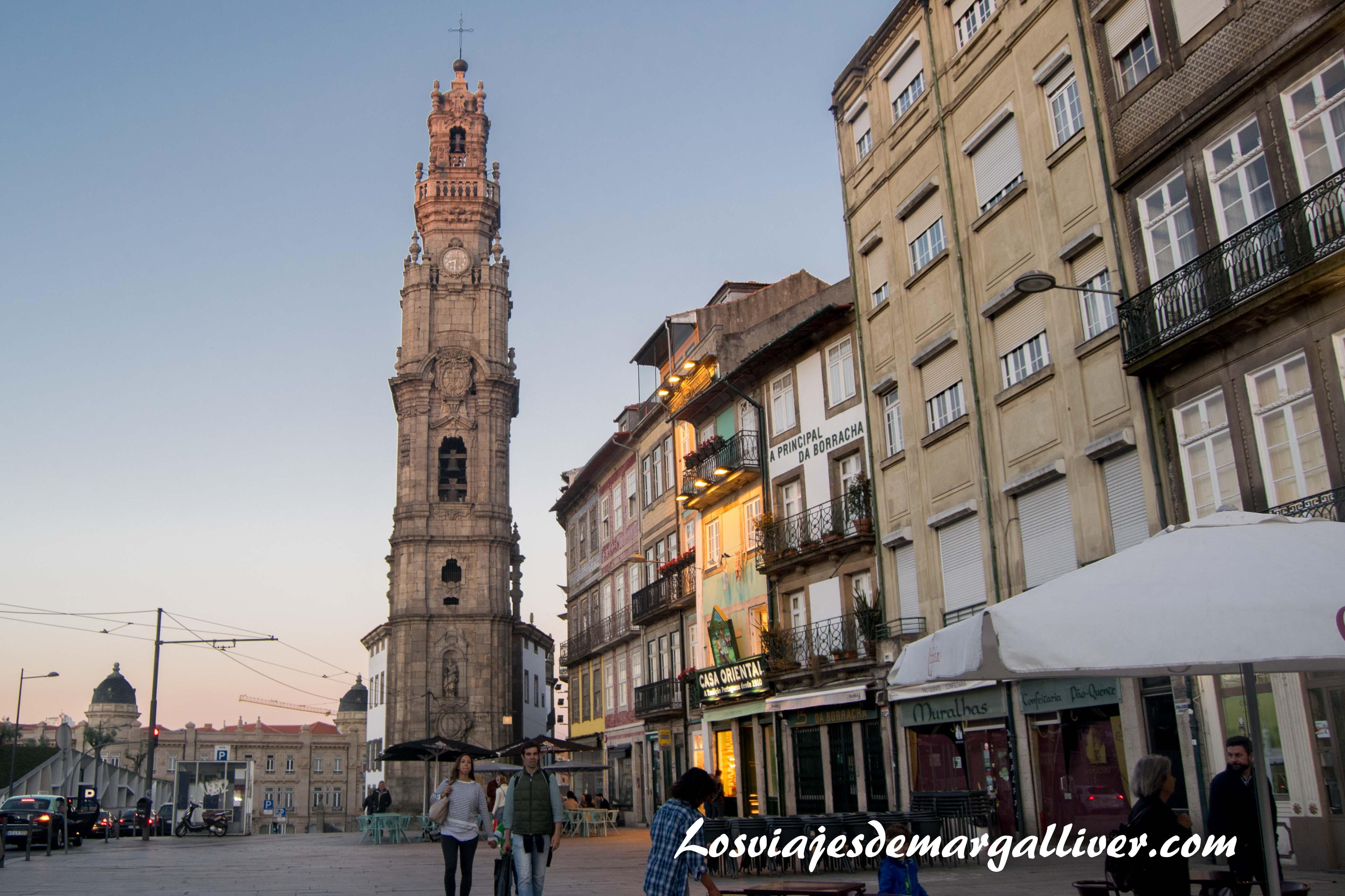 Torre de los Clérigos de Oporto - Los viajes de Margalliver que ver en Oporto